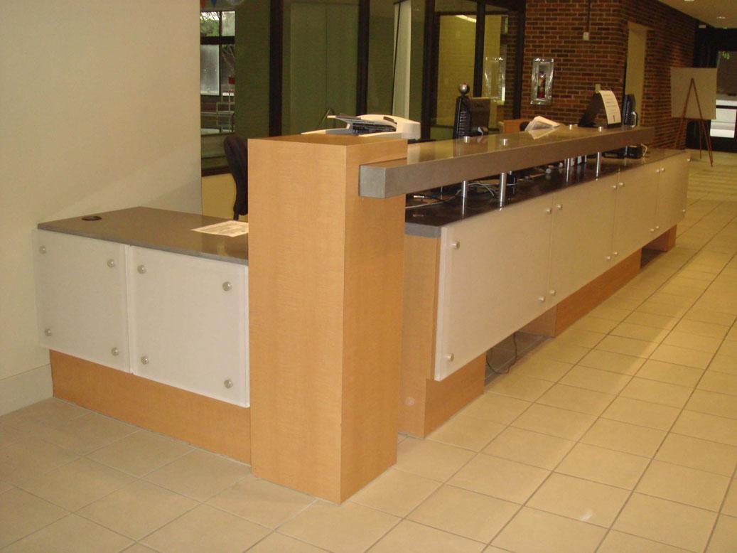 Reception Cabinet Makers Miami Fl